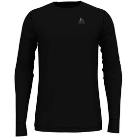 Odlo Suw Natural Longsleeve Top Crew Heren, black-black